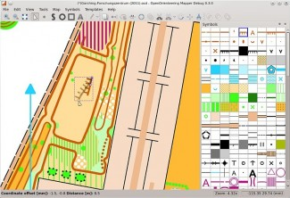 Screenshot OpenOrienteering Mapper